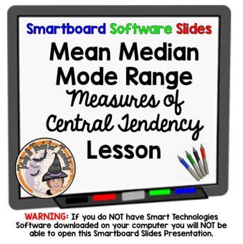 Measures of Central Tendency Mean, Median, Mode, Range Sma