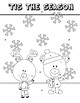 Measures of Central Tendency {Winter and Inspirational Coloring}