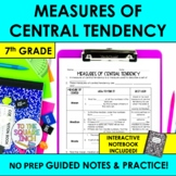Measures of Central Tendency Notes