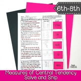 Measures of Central Tendency Word Problems | Solve and Sni