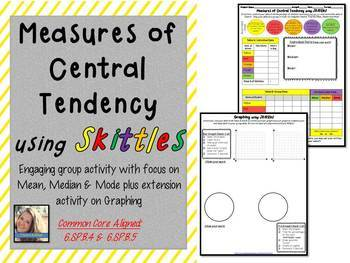 Measures of Central Tendency w/ Graphing Component