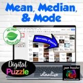 Measures of Central Tendency, Mean, Median, Mode with GOOGLE Slides™