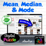 Measures of Central Tendency, Mean, Median, Mode with GOOGLE Slides™
