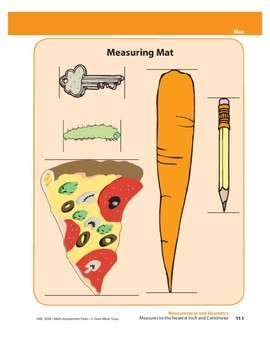 Measures to the Nearest Inch and Centimeter