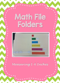 Measuring 1-6 Inches File Folder