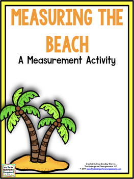 Measuring A Day At The Beach!  A Measurement Creation!