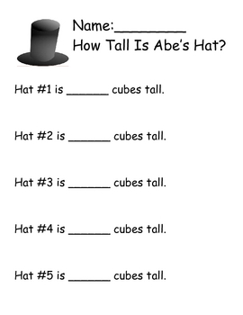 Measuring Abe's Hat