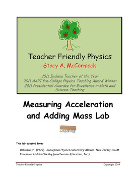 Measuring Acceleration and Adding Mass Lab