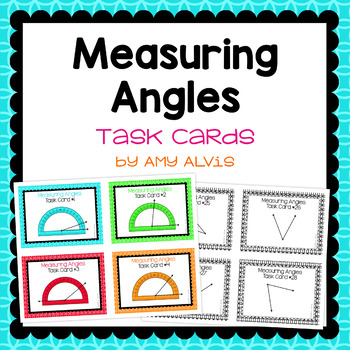 Measuring Angles task cards - SCOOT
