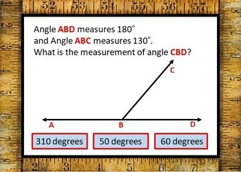 Measuring Angles Boom Cards - 24 Self-Checking Cards!