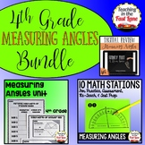 Measuring Angles Bundle 4th Grade