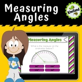 Measuring Angles Degrees - Boom Cards
