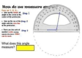 Measuring Angles Gone Fun - with games, video, smart noteb