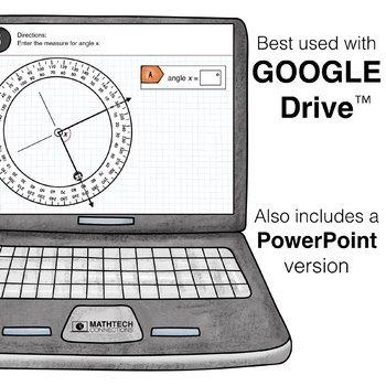 Measuring Angles Google Slides ™ 4th Grade Interactive Math Center