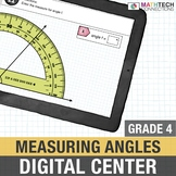 4th Grade Math Distance Learning: Measuring Angles | 4th G
