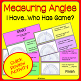 Measuring Angles I Have...Who Has FUN GAME