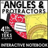 Measuring Angles Interactive Notebook Set | Distance Learning
