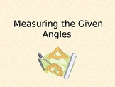 Measuring Angles Introduction