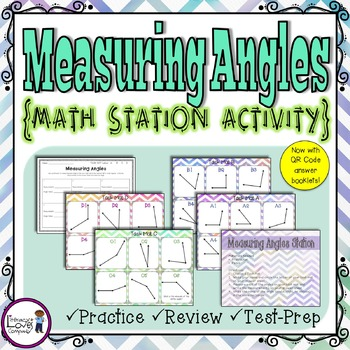 Measuring Angles Math Center