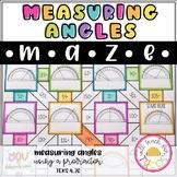 Measuring Angles Maze 4.7C