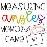 Measuring Angles Memory Game!
