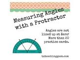 Measuring Angles - Not Set at  Zero Degrees