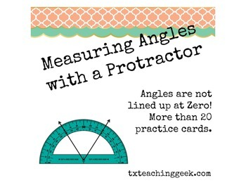 Measuring Angles - Not Set at  Zero Degrees