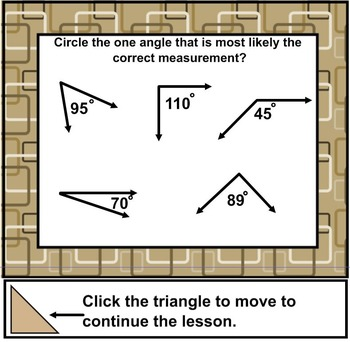 Protractor Project Measuring Angles - Acute, Obtuse, and Right Angles