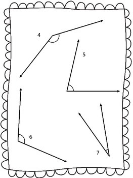 Measuring Angles Practice Sheet