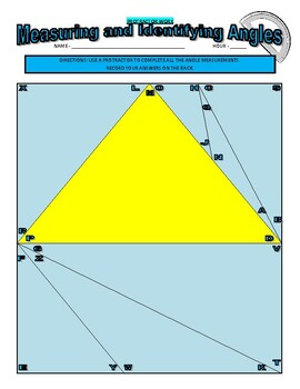 Measuring Angles (Protractor)