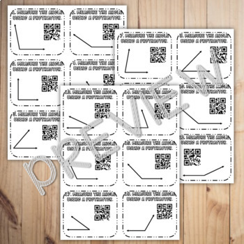 Measuring Angles QR Codes