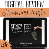 Measuring Angles Review Game Stinky Feet