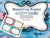 Measuring Angles SCOOT Game and Task Cards