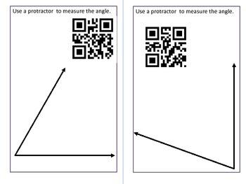 Measuring Angles Task Tards