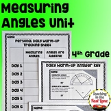 Measuring Angles Unit with Lesson Plans