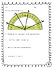 Measuring Angles and Reading a Protractor Activity Sheets 4.7C  4.7D 4.MD.C.6