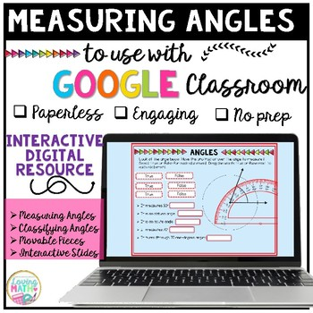 Measuring Angles for Google Classroom