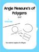 Measuring Angles of Polygons Bundle