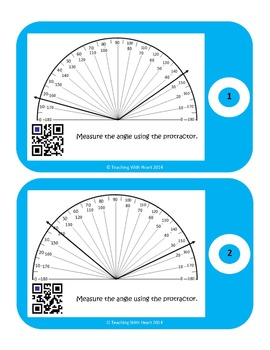 Measuring Angles with Protractors Bundle - Save $3!!!