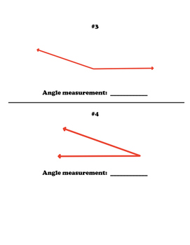Measuring Angles with a Protractor