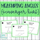 Measuring Angles with a Protractor Scavenger Hunt - CCSS 6.NS.B.4