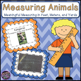 Measuring Animals Outdoor Measurement Fun! (Feet, Meters, Yards)