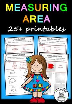Measuring Area – 25+ printables (Measurement & Data)