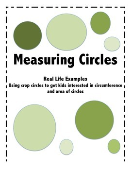 Measuring Area and Circumference of Circles