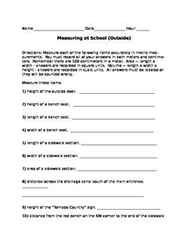 Measuring At School