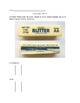 Measuring Butter Practice Worksheet- Reading rhe Wrapper and Equivalents