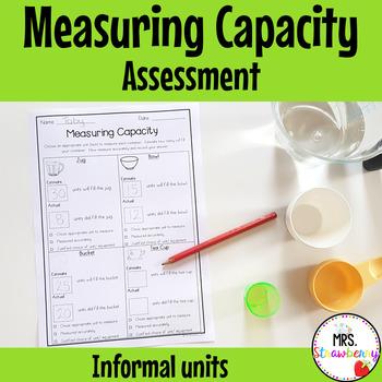Measuring Capacity Assessment {Informal Units}