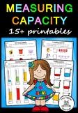 Measuring Capacity – 10+ printables (Measurement & Data)