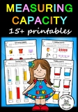 Measuring Capacity – 15+ printables (Measurement & Data)