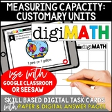Measuring Capacity - Customary Units: Digital Math Centers